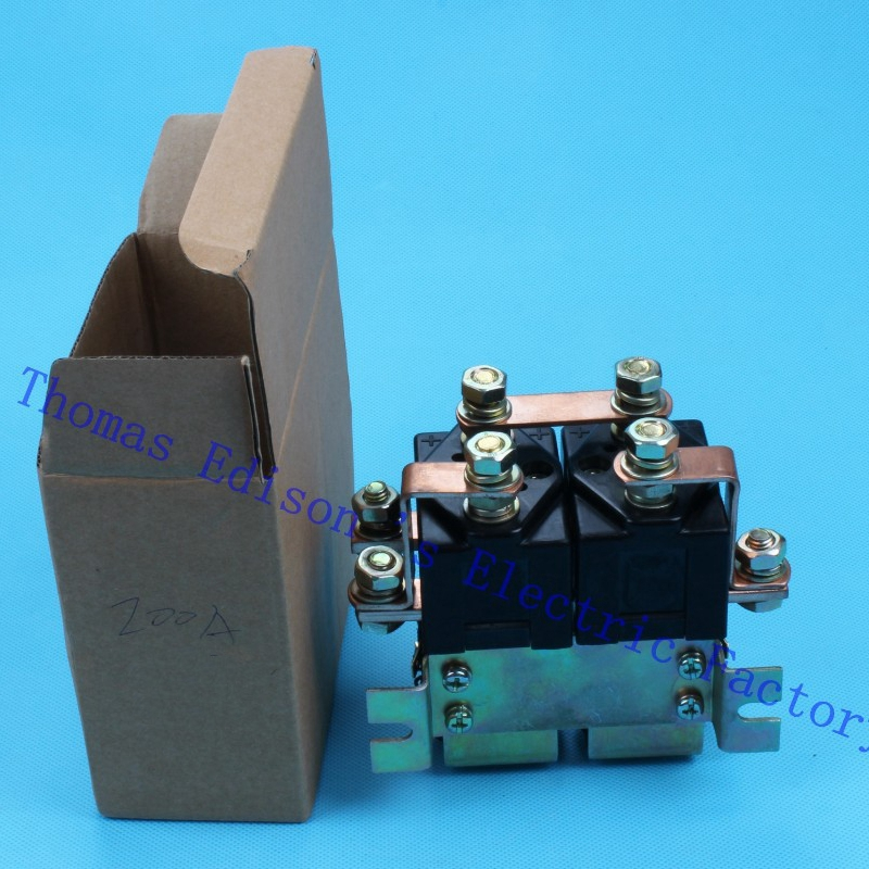 ZJW200HT SW182 2NO+2NC 12V 24V 36V 48V 60V 72V 200A DC Contactor for handling drawing motor forklift electromobile wehicle car sw88 2no 2nc 12v 24v 36v 48v 60v 72v 100a dc contactor zjw100aht for forklift handling drawing wehicle car pump motor