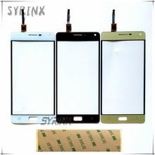 Syrinx 3M Sticker Touch Screen For Lenovo P1 P1c72 P1a42 P1c58 Sensor Front Glass Digitizer Panel