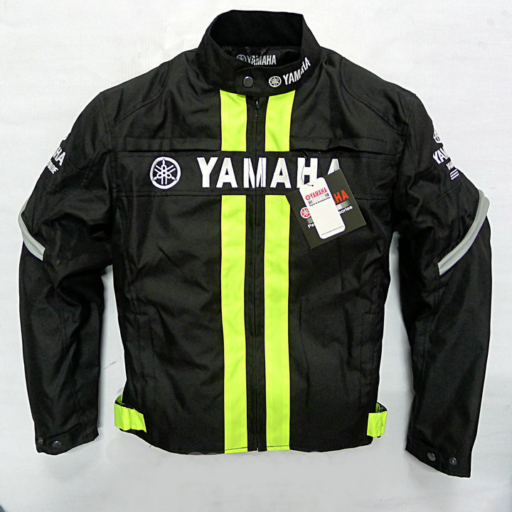2018 Black and Yellow Motorcycle Riding Protective Racing Jacket For Yamaha MotoGP Racing Clothes 2017 valentino rossi vr46 for yamaha racing blue motogp mens felpa zip up sweater