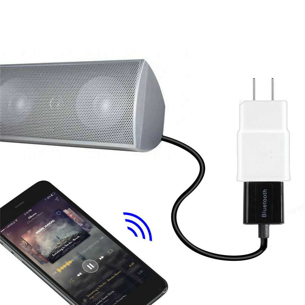 3.5 ミリメートル AUX ジャックオーディオ受容ミニ Bluetooth オートスピーカーステレオハンズフリー車の Bluetooth アダプタレシーバーワイヤレス音楽
