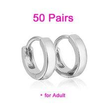 Женские серьги кольца 50 пар e0983