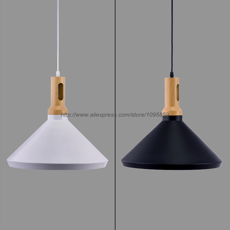 Free Shipping Modern Nordic Style Experimental Bottle Pendant Light Lamp Wood Ceiling Fixtures Black/White Hanging Lighting