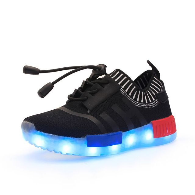 74ef77b093b18b 2016 Children Led Lighting Shoes With 7 Color Changeable USB Charging  Amazing Kids Outdoor Footwear Basketball