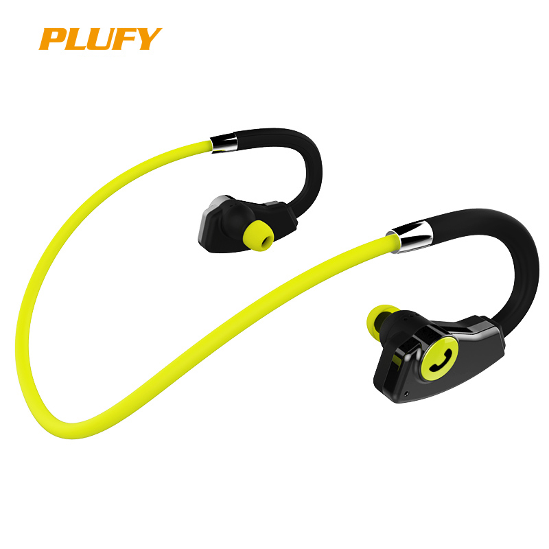 Plufy Bluetooth Earphone with Microphone Wireless Headphone Sport Running Stereo Bluetooth Headset For iPhone Xiaomi Android L27 rock y10 stereo headphone earphone microphone stereo bass wired headset for music computer game with mic