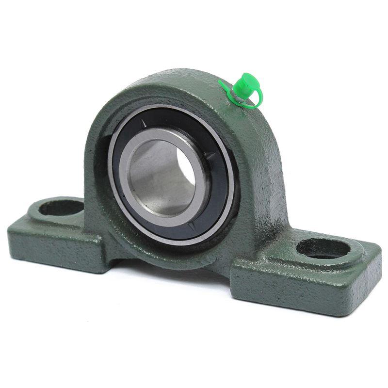 2Pcs 12mm Diameter Bore Ball Bearing Pillow Block Mounted Support KP001 SU