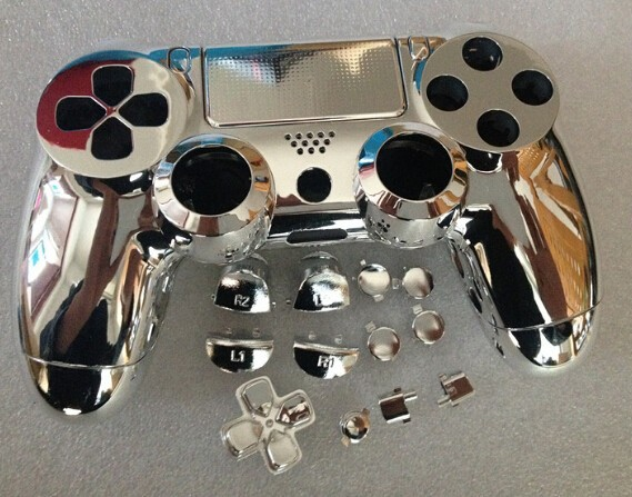 free shipping Custom silver color for PS4 Controller Hydro