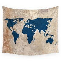 High Quality Rustic World Map Wall Tapestry Cover Beach Towel Throw Blanket Picnic Yoga Mat Home