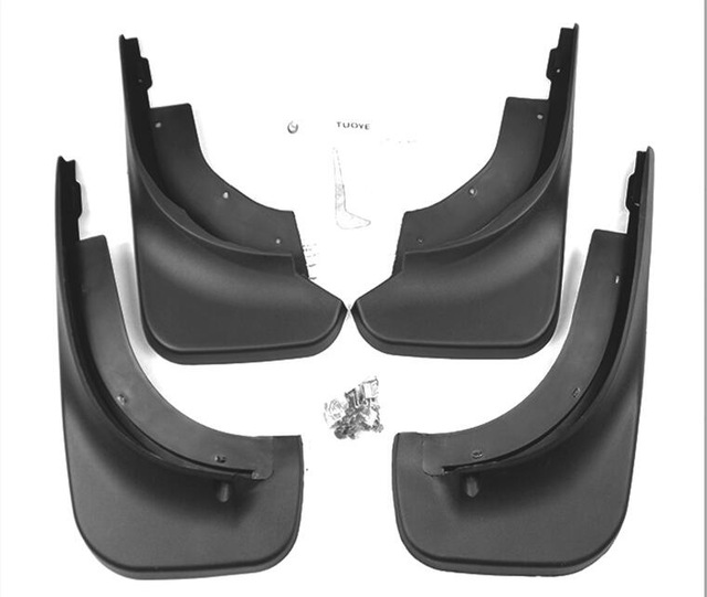 for <font><b>VW</b></font> Touareg Mk1 2004-2010 <font><b>Mudflaps</b></font> Accessories 4Pcs Car Front Rear Splash Guards Mud Flaps Mudguards Fender image