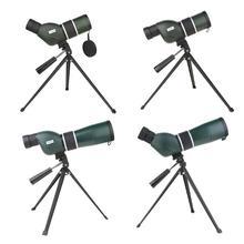 Водонепроницаемая Оптическая Труба с зумом со штативом для наблюдения за птицами походов охоты
