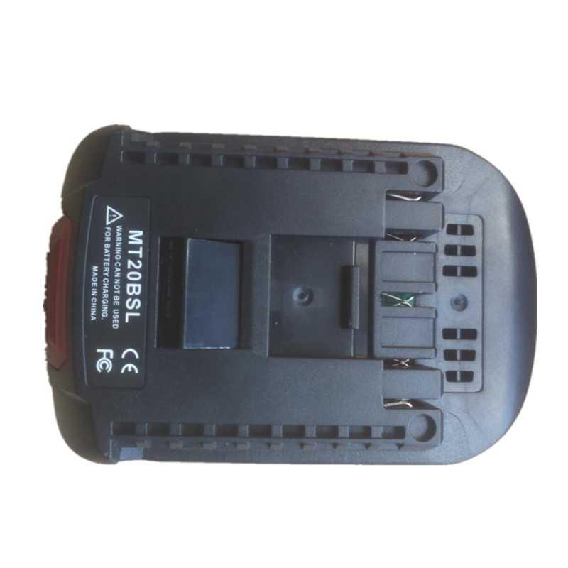 Battery Adapter For Bosch 18V Li-ion To Dewalt 18//20V Li-ion Cordless Power Tool