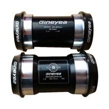 GINEYEA PF30 BB30 Press-Fit bottom bracket / 7075AL CNC axis / bike bicycle axis GXP 24mm/22mm