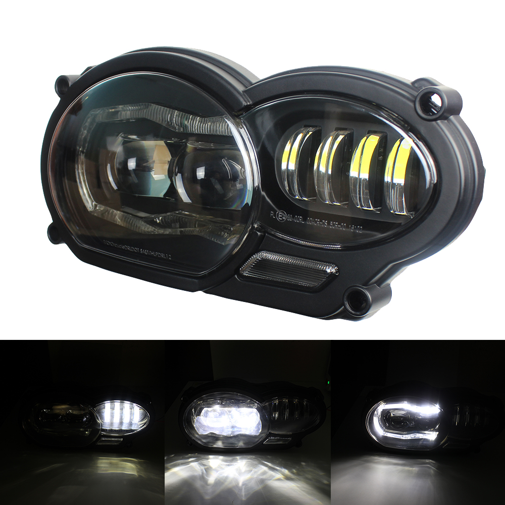 2018 New Product For BMW R1200GS 2004 2005 2006 2007 2008 2009 2010 2012 Led Headlight and Protective cover