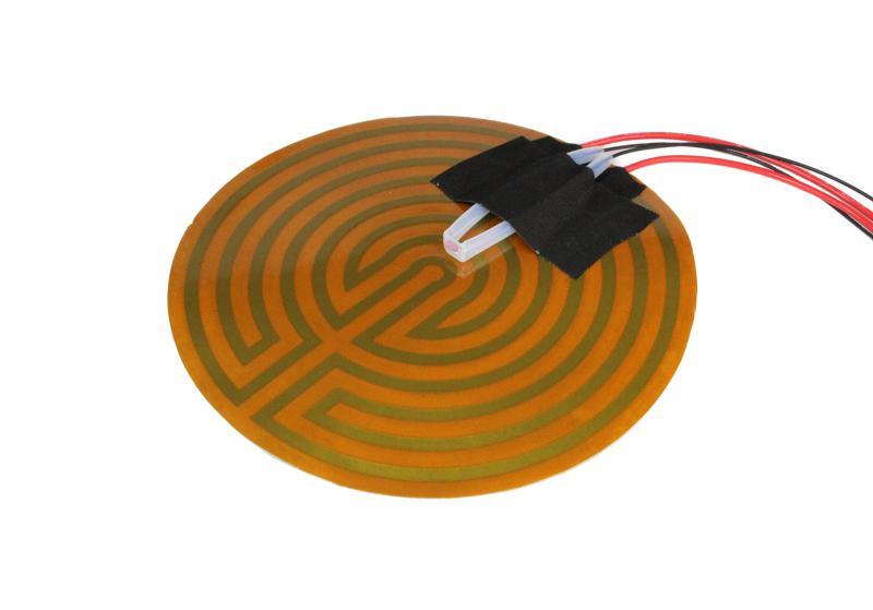 ФОТО Reprap 3D Printer MICRO DELTA HEATBED COMPLETE KIT 12V 3.5A 3950 NTC100k thermistor