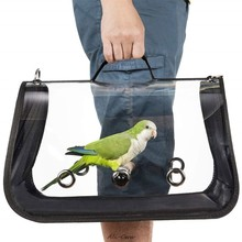 Bird Travel Carrier Outerdoor Bird Transport Cage Breathable Parrot Go Out Backpack(China)