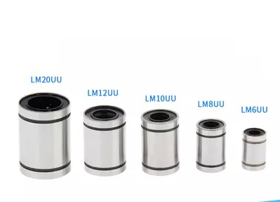 LM40UU 40x60x80mm Linear Ball Bearing Bushing for 3D Printer Bearing Linear Ball Bearing Bushing