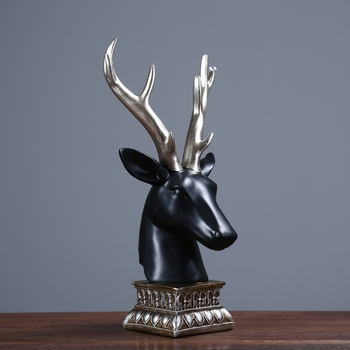 American living room bar model room creative A PC deer head ornaments home accessories decoration crafts wedding gifts AP511958