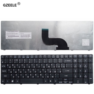 GZEELE russian laptop Keyboard for ACER 5820T 5750G 5742 5536TG 7741ZG 7741G 5560G 5560 5551 5551g 5552 7741 RU RUSSIAN black(China)