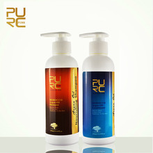PURC Professional Hair Care Set Argan Oil Moisturizing Oil Control Shampoo And Nourishing Repair Damage Hair Conditioner 500ml