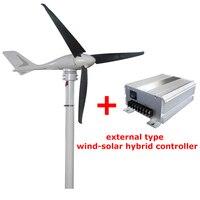 S 700 400W Wind Generator 3 Blades Wind Turbine Generator With Wind Controller
