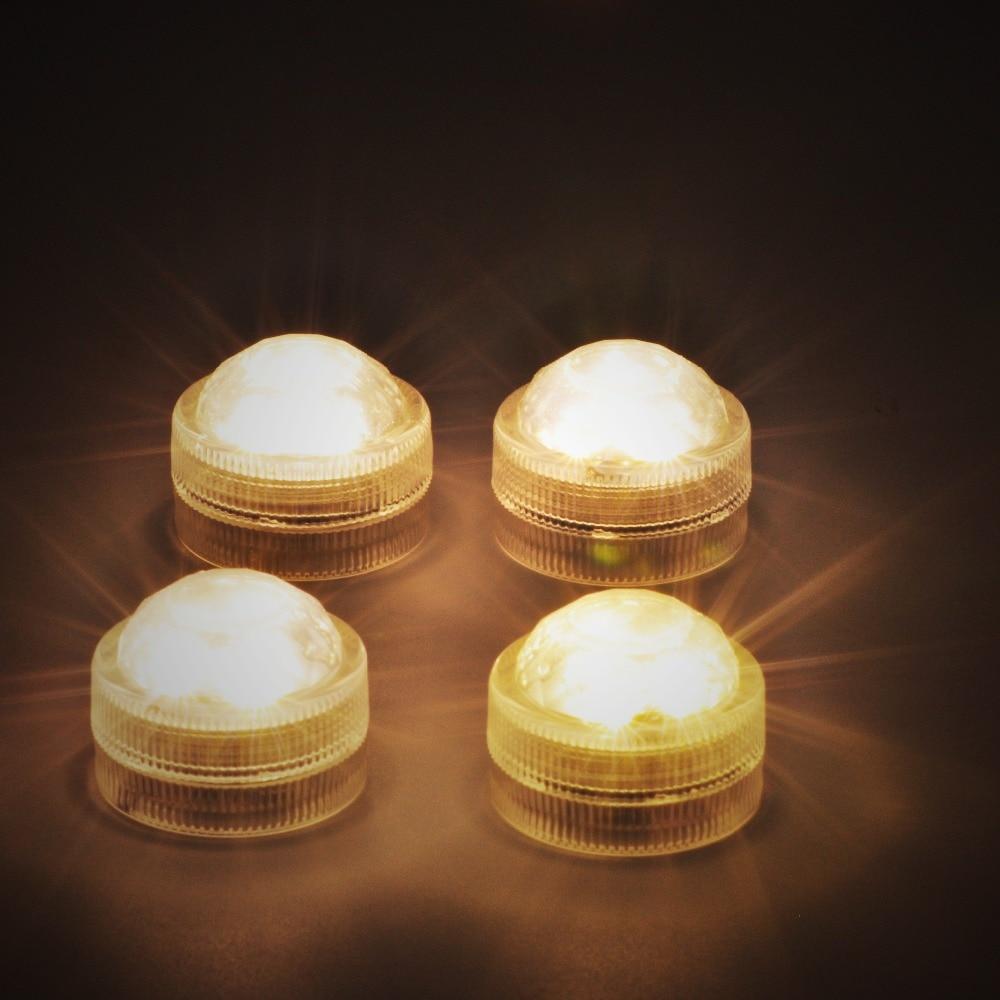 все цены на Kitosun Waterproof Submersible LED Lights Battery Operated Mini LED Remote Controlled Light for Vase Pool Smoking Shisha Decor онлайн