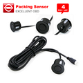 4PCS/Lot Free shipping Reversing radar sensor,Reversing radar probe, Parking Sensors 13 colors optional