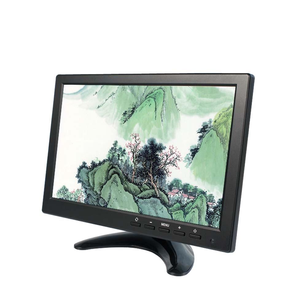 10.1 Inch TFT LED Car Monitor & VGA+USB+HDMI+BNC Ultra high brightness Up to 1024*600 display Family and Car Use