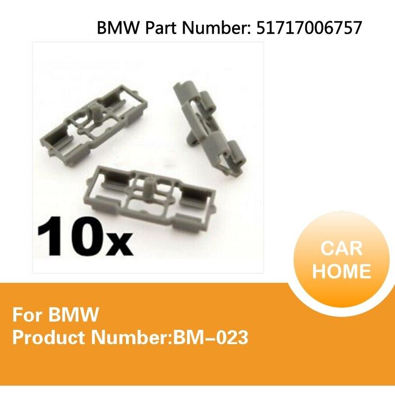 10x DOOR LOCK ROD LINKAGE CLIPS FOR BMW