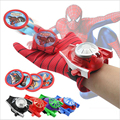 Extraordinary spider man gloves children's toys wrist launcher Batman gloves anime toy iron man