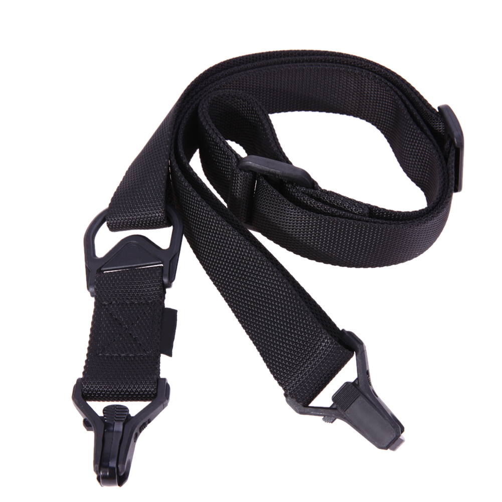 Adjustable Hunting Strap Tactical 1 Or 2 Point Gun Sling Rifle Sling Bungee Strap Safety Wargame Paintball Hunting Gun Strap
