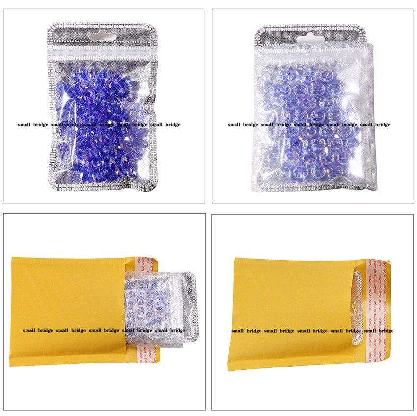 teardrop crystal bead (8)