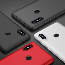 Matte TPU Frosted Silicon Phone Cover For Xiaomi Redmi 5 Plus Case Note 5 5A 6A 6 S2 4X 4 4A Mi 8 5x 6X A2 Mix 2 Mobile Cases(China)