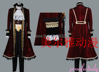 APH Hetalia Axis Powers Spain Pirate Party Anime Uniforms Cosplay Costume Full Set Custom Made Any Size