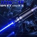 Сжигание Лазерный Ультра Мощный 450nm Синий Лазерный Указатель 2000 МВт 5000mW7000mW Для Резки Регулируемый Фокус