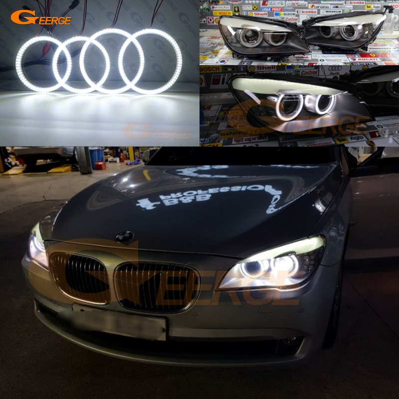 For BMW F01 F02 F03 F04 730d 740d 740i 750i 760i XENON HEADLIGHTS 2008 2012 Excellent