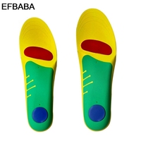 EFBABA Breathable Damping Sports Insoles Flat Foot Arch Support Orthopedic Insoles Sweat Absorbent Orthopedic Shoes Accessories