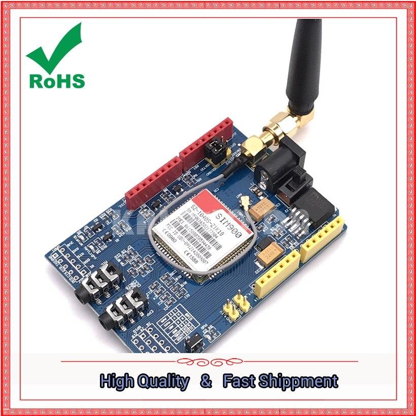 SIM900 module 4 frequency development board GSM GPRS SMS wireless data super TC35i boardSIM900 module 4 frequency development board GSM GPRS SMS wireless data super TC35i board
