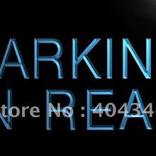 LB425-парковка в задней части автомобиля дисплей светодиодный неоновый свет вывеска домашний декор ремесла