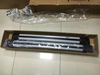 Alta qualidade 2 pcs barra de liga de Alumínio rack de teto trilho cruz ajuste para o RANGE ROVER SPORT 13-16 Bagagem transportadora