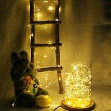 Светодиодный светильник на батарейках, 2 м, 5 м, 10 м, 3* AA, на батарейках, гирлянда, для улицы, дома, рождества, декоративный светильник, светодиодная лента