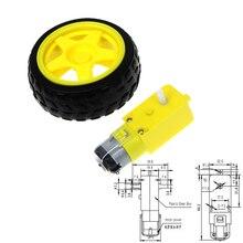 TT Мотор умный автомобиль робот мотор-редуктор для arduino Diy комплект колеса умный автомобиль шасси мотор робот пульт дистанционного управления автомобиля DC мотор-редуктор