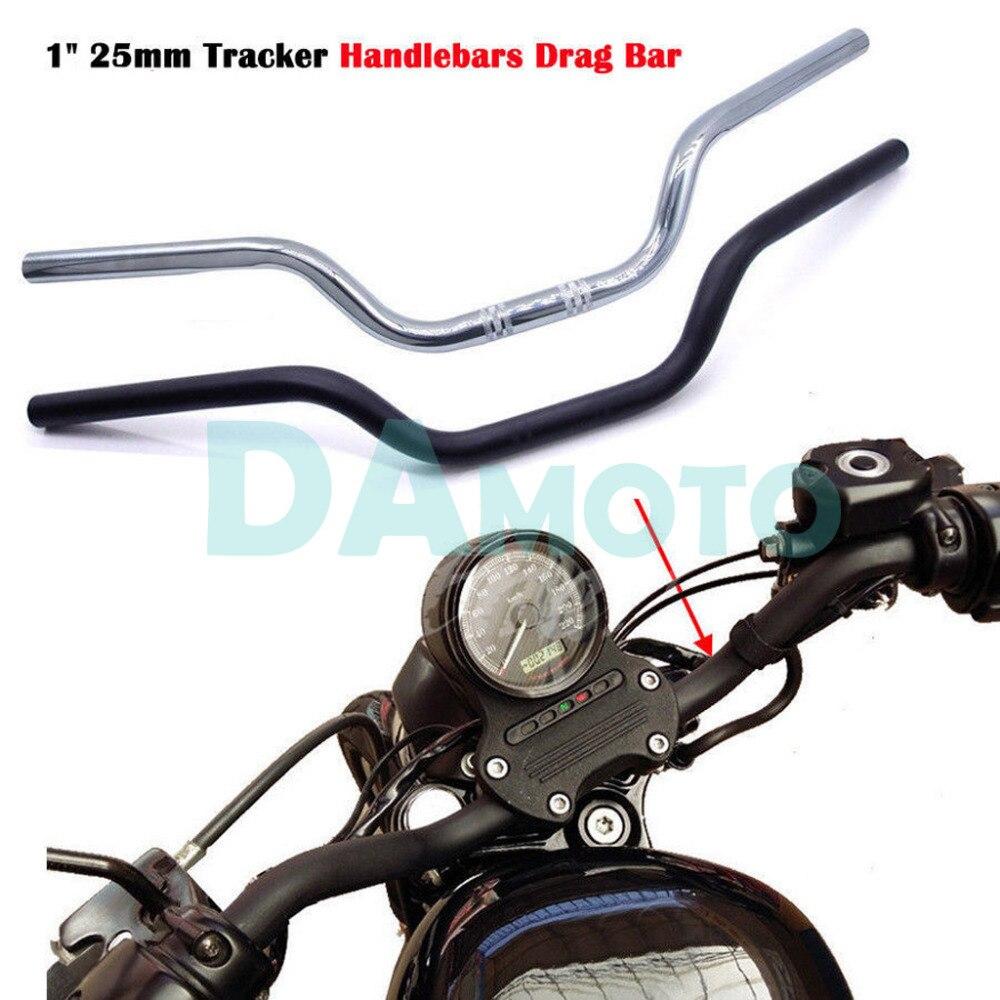 For Harley Davidson XL 883 1200 Chopper Bobber Motorcycle Handlebar Universal