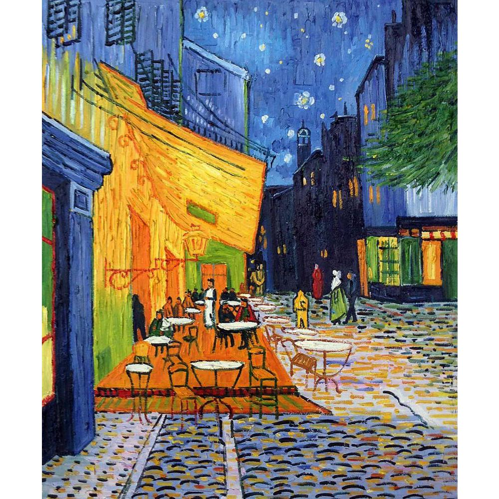 Famous Arts Vincent Van Gogh Landscapes Oil Paintings Cafe