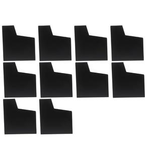 Image 1 - 10 יח\סט מט כיסוי אבק מקרה משחק מחסנית מגן שרוול עבור נינטנדו NES