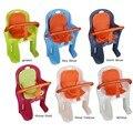 Bebê Crianças Crianças Bicicleta Cadeira de Assento de Sela Da Bicicleta Crianças de Volta Viajar Conjunto com Cinto de Segurança de Proteção Barra do Punho