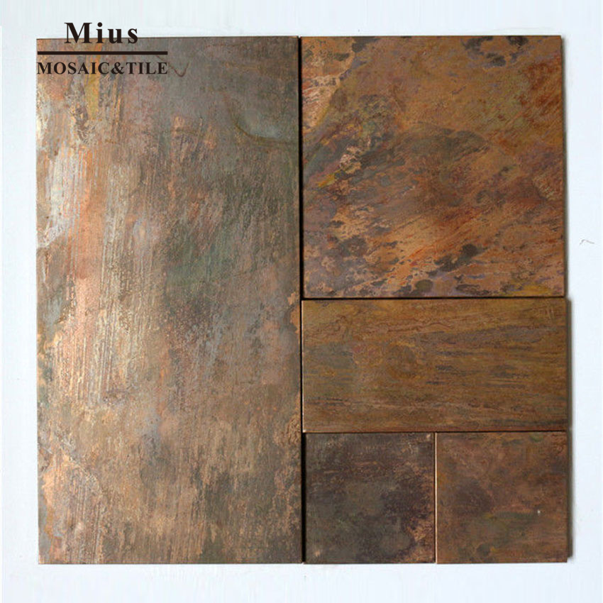 3D Classical Style  Copper Metal  Wall Mosaic Tiles  For Kitchen Backsplash KTV Wall Decoration