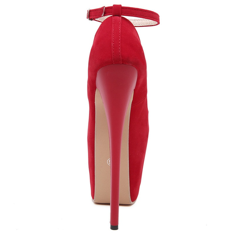 Hauts Rond Croisées Plate Noir forme Talons Pompes Mince rouge Mariage Sexy Chaussures Noeud Femmes De Bout Ultra Sangles Rouge Tw8xqTY7tH