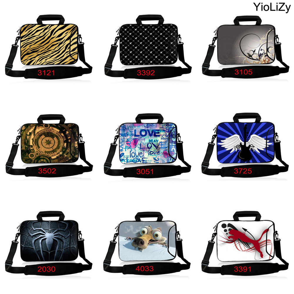 briefcase 13.3 laptop case shoulder pouch 10.1 12.3 14.1 15.6 17.3 Notebook Messenger bag computer sleeve cover handbag SB-3121