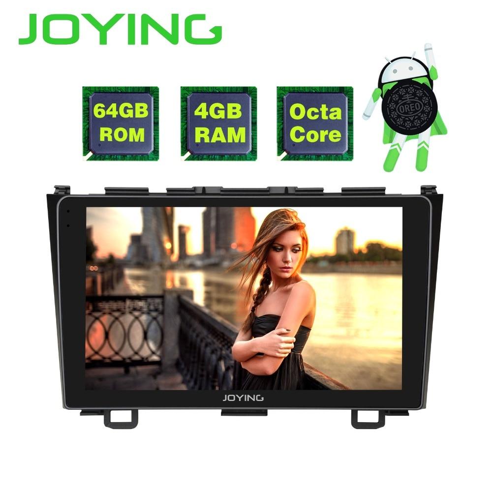 JOYING 9 IPS Screen Android 8.1 Car Radio Stereo Player HU GPS Navi For Honda CRV 2007-2011 WiFi+BT+SWC+RDS+4GB+64GB Octa CoreJOYING 9 IPS Screen Android 8.1 Car Radio Stereo Player HU GPS Navi For Honda CRV 2007-2011 WiFi+BT+SWC+RDS+4GB+64GB Octa Core