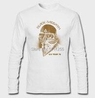 Iron Man The Avengers Stark Black Sabbath 1978 Tour Long Sleeve T Shirt Men Cotton Printed