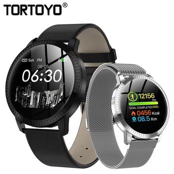 TORTOYO CF18 Smart Watch Multi Sports Mode Wristwatch Heart Rate Monitor Smartwatch Blood Pressure Fitness Tracker for Men Women new garmin watch 2019